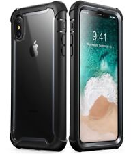 iPhone X case i-Blason Ares Built-in Screen Protector Cover Apple iPhone 10   t4
