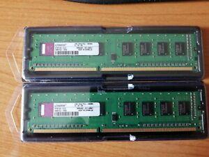 2 (2Gb Total) x Kingston  1 GB, PC3-10600 (DDR3-1060), DDR3 SDRAM, DIMM Non-ECC…