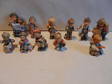 Lot of 11 Berta Hummel Goebel Figurines 1997 Christmas Ornaments Nice Collection