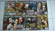 Collection série complète Collector prison break 8 revues The official magazine