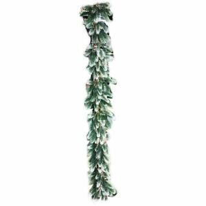Christmas Garland Wreath Pine Tree Plastic Hanging Home Party Decoration  DIY