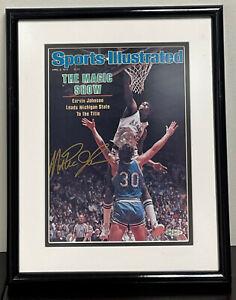 Magic Johnson Signed 1979 Sports Illustrated Magazine Upper Deck UDA