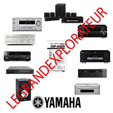 Ultimate YAMAHA Audio & Video Repair Service Manuals  1050 PDF manual s on 3 DVD