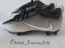 Nike Vapor Strike 5 TD Men's Football Cleat Low Sz 9 Black White Brand New