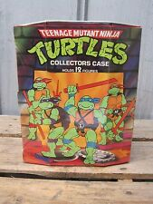 VINTAGE 1988 TEENAGE MUTANT NINJA TURTLES COLLECTORS CARRYING CASE B6908