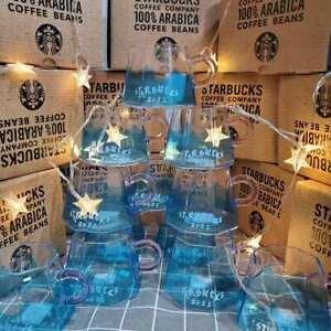Starbucks Japan Mt. Fuji 2021 Christmas and New Year Coffee Glass Mark Cup