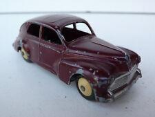 DINKY TOYS FRANCE  PEUGEOT 203   REF 24 R    PETITE LUNETTE AR   1951  BON ÉTAT