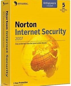 Norton Internet Security Suite 2007 - 5 User
