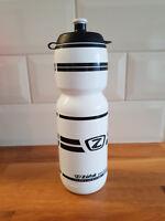 ZEFAL WATER CYCLING SPORTS BOTTLE White & Black 750ml BPA Free - NEW
