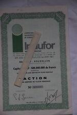 5 Actions Indufor après 1944