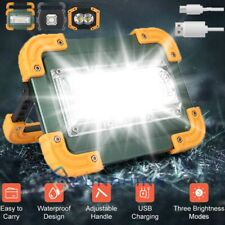 150000lm Led Work Light Rechargeable Inspection Spotlight Usb Flood Lamp Stand