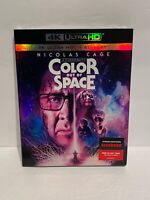 Color Out Of Space (4K UHD +BLU RAY )Nicolas Cage