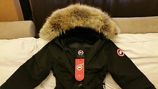 BRAND NEW RED LABEL 100% LADIES BLACK CANADA GOOSE KENSINGTON XXL PARKA JACKET