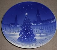 1930 Bing and Grondahl CHRISTMAS PLATE Made in Denmark