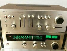 Rotel RA 611 & RT 622 Vollverstärker Radio  - vintage Designobjekt, rar