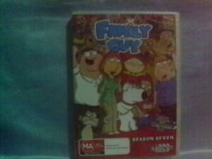 FAMILY GUY SEASON SEVEN  DVD