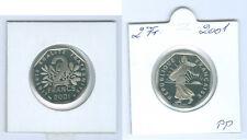 Francia 2 Franchi 2001 PP Solo 35.000 Pezzo