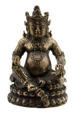 Jambhala Kubera-Dzambhala-Bouddha-Amulette tibetaine en laiton-52 mm-W60 5242