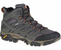 Merrell Men's Moab 2 Mid GTX Hiking Boots - Beluga J06059 - Choose Size