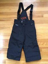 Boy's Toddler OBERMEYER Suspender Bib Snow Pant / 2T 2 / Black / Waterproof