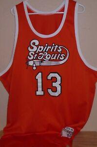 #13 Moses Malone Spirit of St Louis Throwback Hardwood Classics Jersey