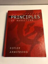PRINCIPLES OF MARKETING 10th EDITION by KOTLER-ARMSTRONG HARDCOVER-2004