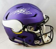Adrian Peterson Signed Minnesota Vikings F/S SpeedFlex Helmet w/ Insc- Beckett