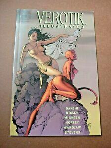 Verotik Illustrated #2 - Dave Stevens cover - 1997 Verotik - Danzig