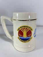Vintage USNS Redstone T-AGM 20 Tankard Mug Range Instrumentation Ship US Navy