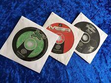 JET SET RADIO MSR Racer and Virtua FIGHTER 3 discs for Dreamcast UK PAL ex cond