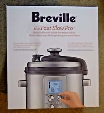 Breville Fast Slow Pro Pressure Cooker BPR700BSS