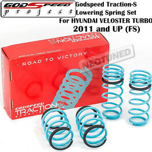 GODSPEED TRACTION-S™ PERFORMANCE LOWERING SPRINGS FOR HYUNDAI VELOSTER FS 11-17
