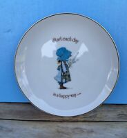 Holly Hobbie Lasting Memories Decorative Plate Start Day Each Day In A Happy Way