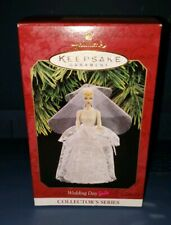 1997 Wedding Day Barbie Hallmark Keepsake Ornament Christmas NIB