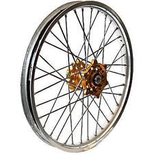 TALON Mx Rear Wheel Set With Excel Rim 2.15X18 Gold/Silver Offroad 56-3066GS