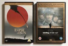 Empire Of The Sun & Saving Private Ryan (2 DVD Bundle) 3 Discs, Steven Spielberg