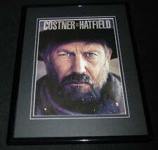Hatfields & McCoys 2012 History 11x14 Framed ORIGINAL Advertisement K Costner