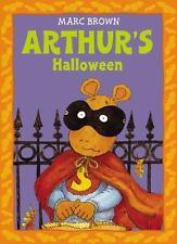 Kids fun paperback:Arthur's Halloween,Marc Brown-Arthur PBS Kids-scared Hallowee