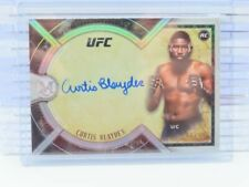 2018 UFC Museum Collection Curtis Blaydes Auto Autograph #/99 P45
