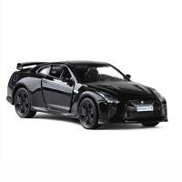 1:36 Scale Nissan GTR R35 Model Car Metal Diecast Toy Vehicle Black Kids Gift