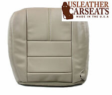 2008 Ford F250 F350 Lariat Leather Driver Side Bottom Seat Cover Camel TAN