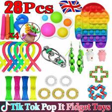 28x Figet Toys Set Anti Stress Toy Set Adults Kids Sensory Antistress Relief Toy