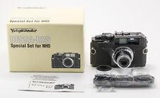 (149) LNIB Voigtlander Bessa-R2S Special Set f/NHS w/S-Heliar 50/3.5 cap hood IB
