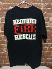 Bedford *FIRE RESCUE IAFFL-3639* T shirt sz Lg~union~Firefighter~Ems~Teamsters