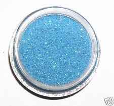 1 boite Paillettes Bleu irisé bijoux d'ongles Nail art Fine Blue Glitter