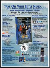 LITTLE NEMO: Adventures in Slumberland__Original 1993 Trade print AD movie promo