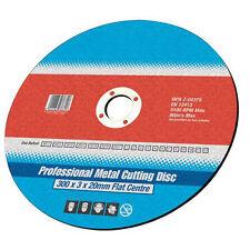 230 Mm X 3 Mm X 22.2 Mm Amoladora Angular Disco De Corte Planos-Heavy Duty