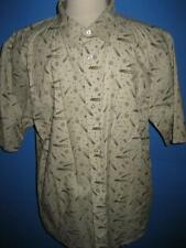 Mecca Logo Cotton SS Camp Shirt 2XL Mint