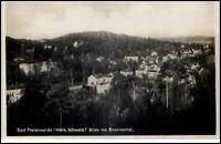 Bad Freienwalde alte Postkarte ~1930/40 märkische Schweiz Blick ins Brunnental