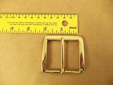 "1 3/4"" Solid Brass End Bar (Heel) Buckle (Pack Of 2)"